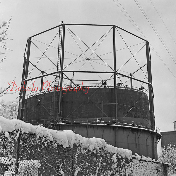 (1958) J.H. and C.K. Mill tank leaning.