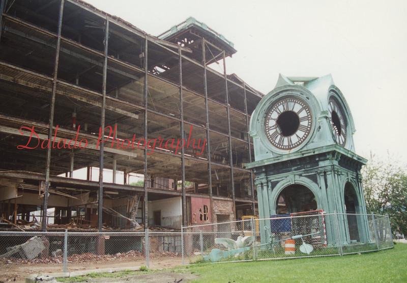 (June or July 1995) Mill demolition.