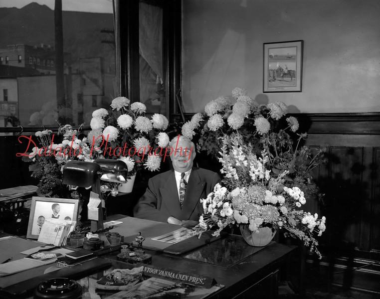 Vanmaanen, president of the Dye Works.