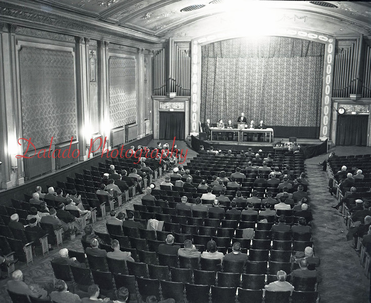 (March 1956) Interior of the Majestic.