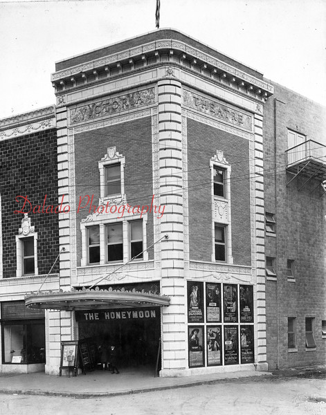 The Victoria Theatre- The Vicky opened in Shamokin in January of 1918 and would become one of Shamokin's best known landmarks until it was demolished in 1999. It is now a parking lot.