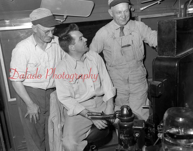 (1951) Train guys.