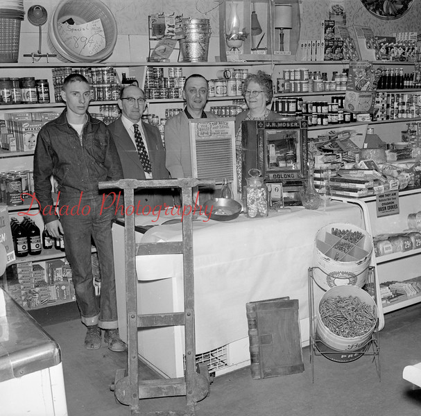 (April 1963) Locustdale store.
