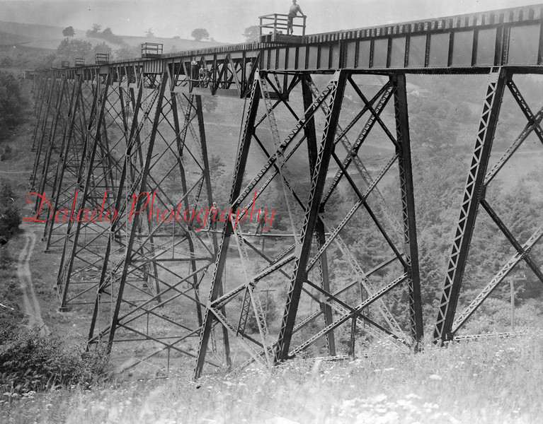 (1896) Catawissa-Ringtown Bridge. Some 130 feet high.