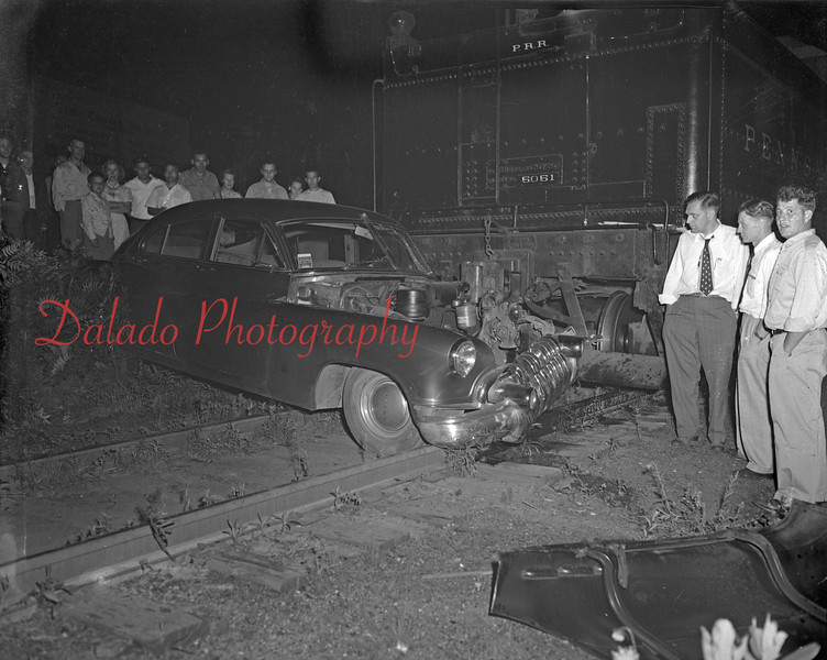 Train versus car. (Unknown year)