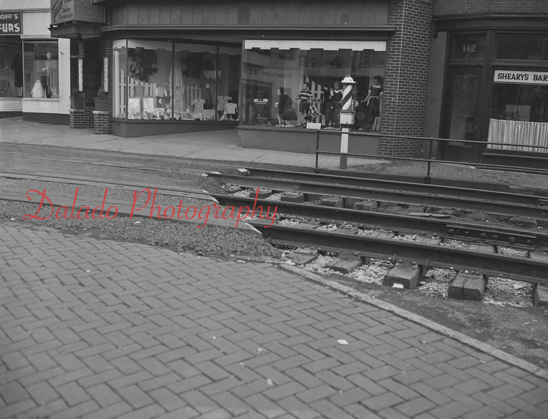 (11.01.48) Tracks along Station Row in Shamokin.