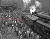 (10.20.1960) Train in the Fifth Ward of Shamokin.