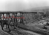 Trestle bridge for the Shamokin-Mt. Carmel Railway.