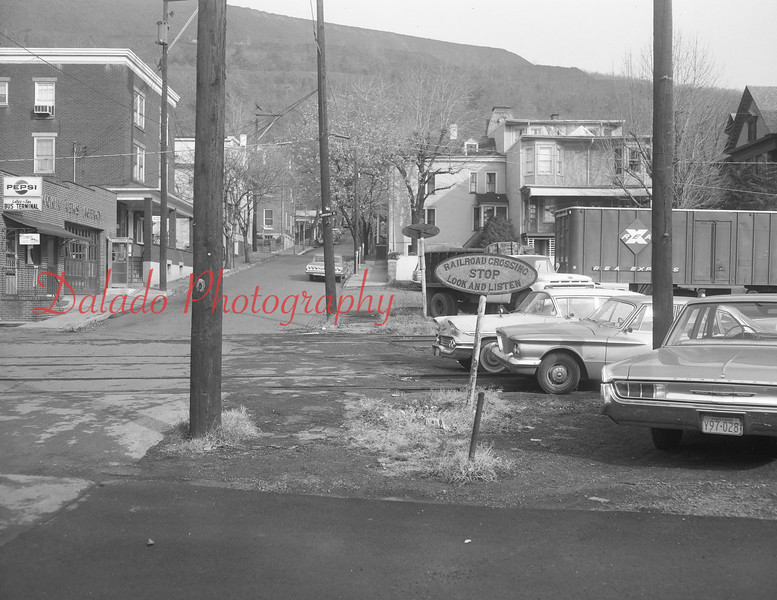 (Nov. 1961) Pennsy tracks in Shamokin.