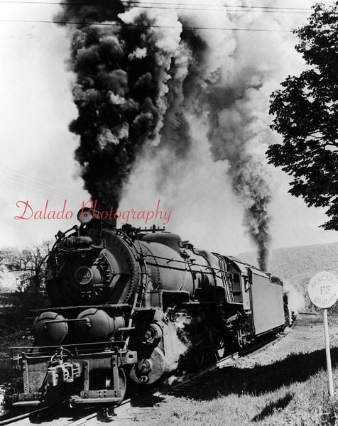 (05.06.1967) Train filled with ore near Shamokin.
