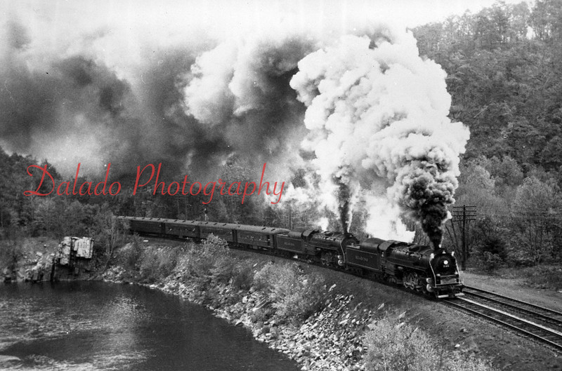 (1964) Reading train at Port Clinton.