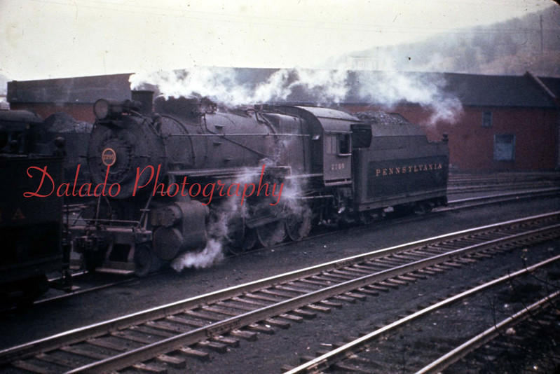 (1957) Pa. Railroad train.
