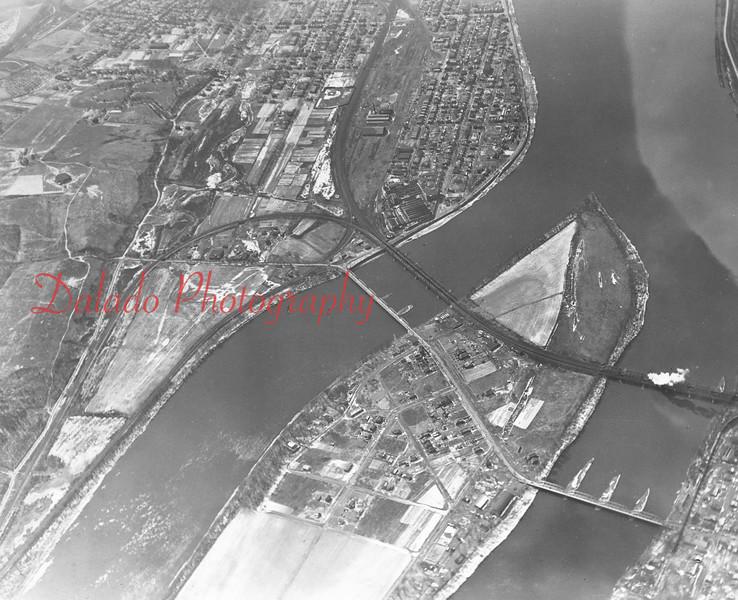 Packer Island/Sunbury tracks.