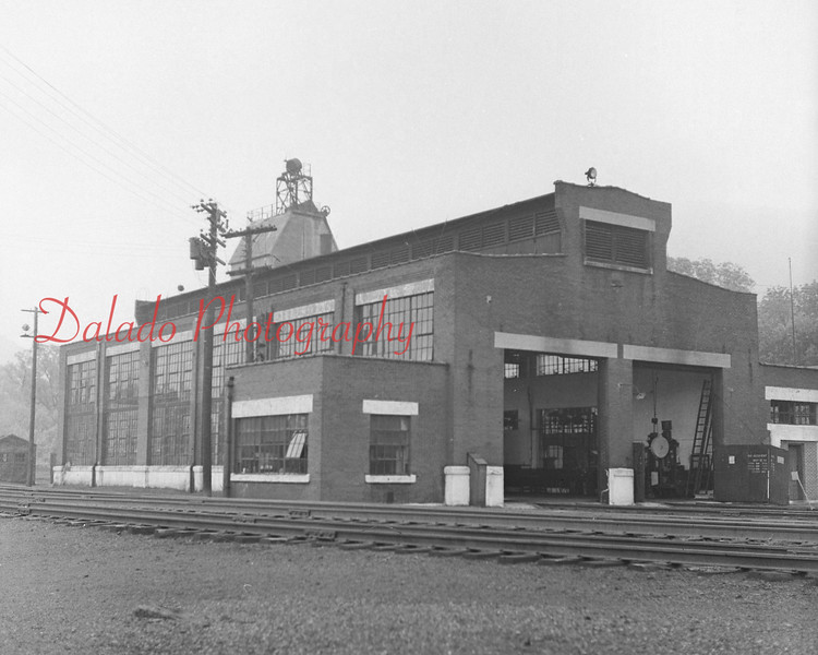 (June 1958) Gordon engine house.