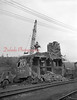 (1960) Removal of tower in the Reading yard in the Fifth Ward of Shamokin.