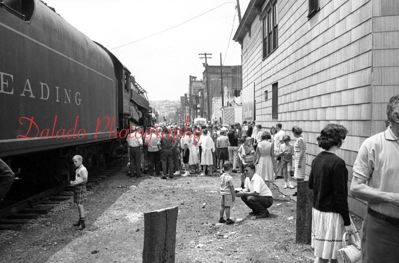 (1964) Train in Shamokin for the Centennial.