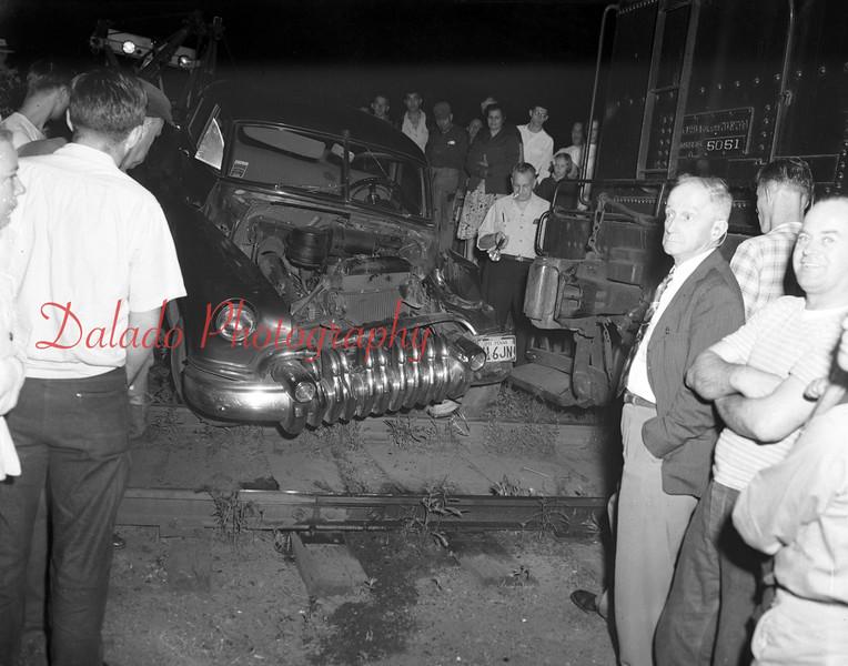 Train versus car. (Unknown year)