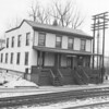 (March 1954) Locust Summit station.