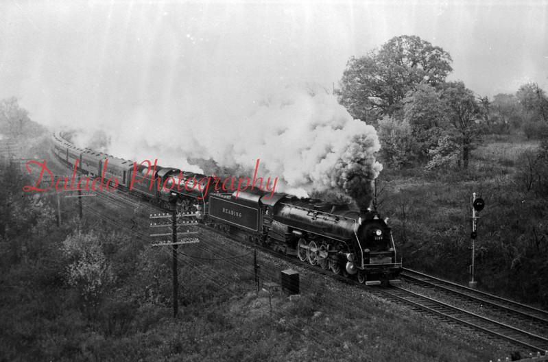 (1964) Reading train near Locustdale.
