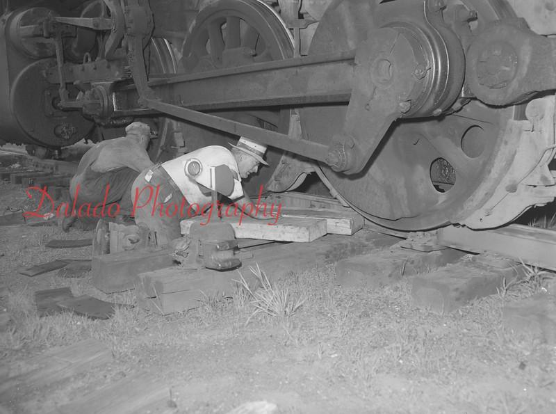 (1956) Train derailment.