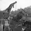 (Oct. 1955) Train wreck.