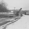 (Jan. 1956) I think this is track removal at Ranshaw, where the drive-in once was.