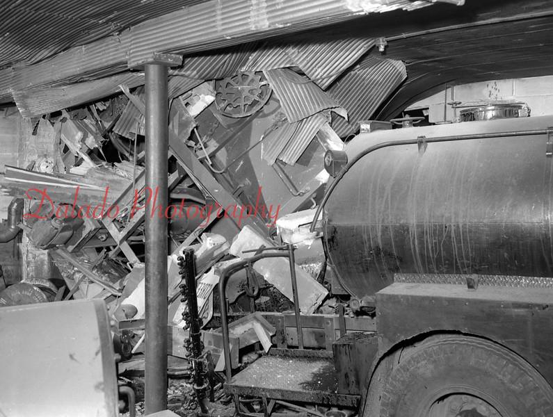 Wreck on Commerce Street in Shamokin.