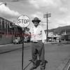 (06.19.58) Men working near the Reading Railroad passenger station.