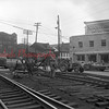 (12.31.64) Men working on crossing at Shamokin and Independence streets.