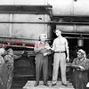 (1949) William A. Bautsch, who was employed by the Reading Railroad for 47 years, nine months and 12 days, retired August 1949. He began working for Reading at the Schuylkill Haven car shop. He was transferred to the Shamokin Engine House October 11, 1935, where he served as a car inspector. When began working for $.17 an hour and a $14 day. When he retired he was making $1.39 an hour. He was presented with a wallet, cash, and a bouquet of gladiolas for his wife. Presentation of the  gifts were made by H.S. Billig, the foreman.
