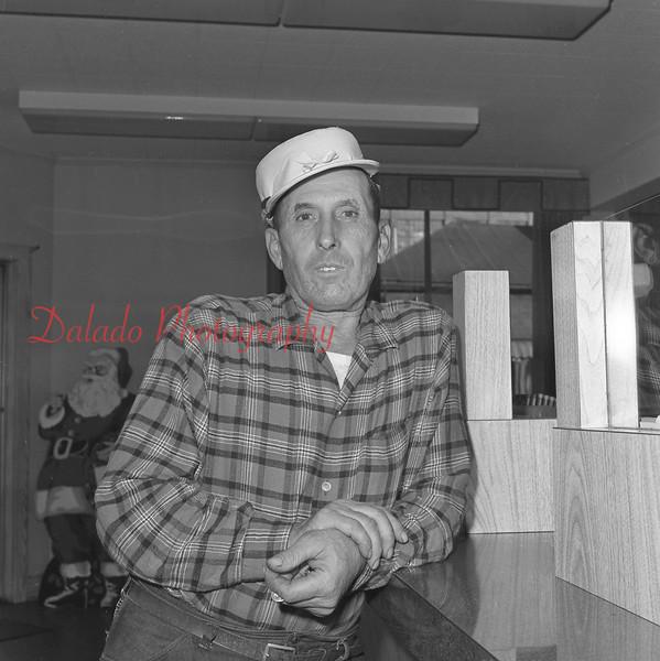 (Dec. 1961) Unknown guy.