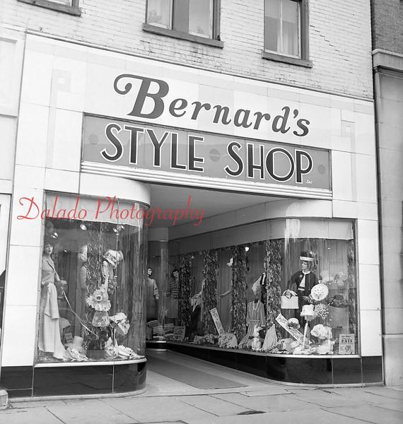 (March 1964) Bernard's Style Shop.