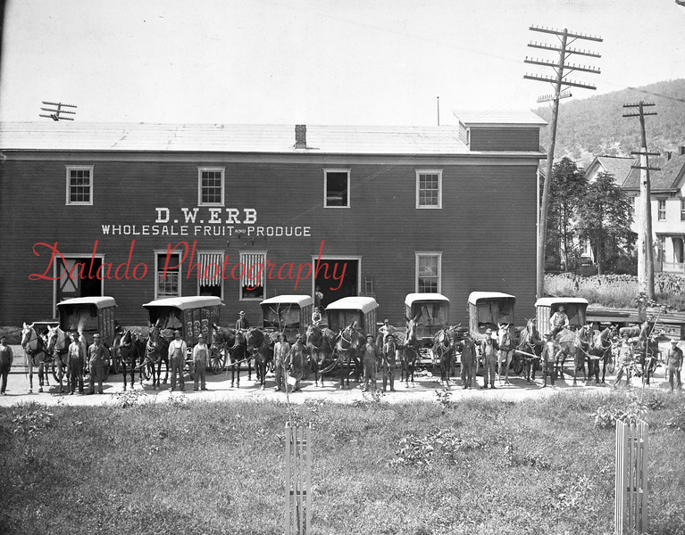 D. W. Erb Wholesale Fruit and Produce. (Might be Shamokin)
