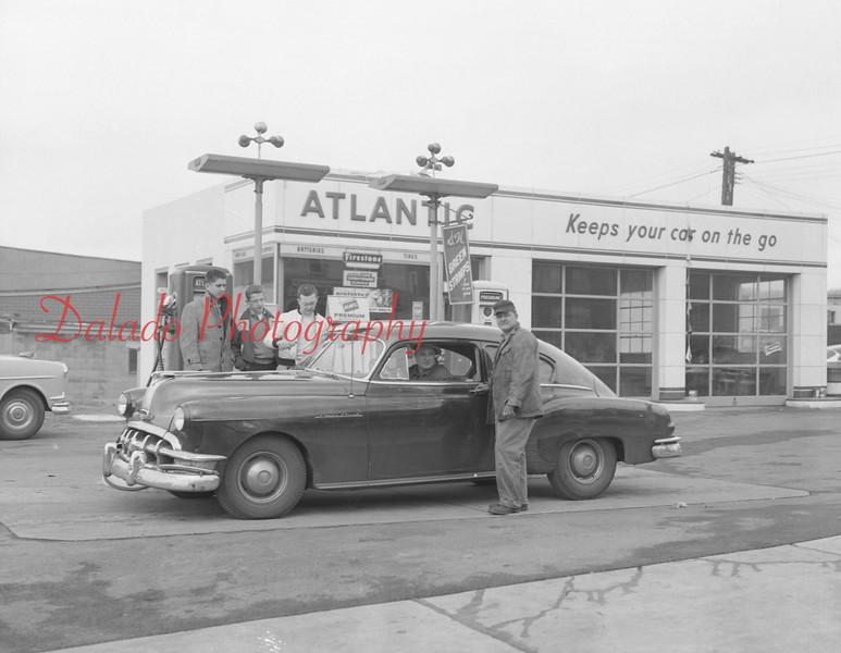 Atlantic gas station, unknown location.