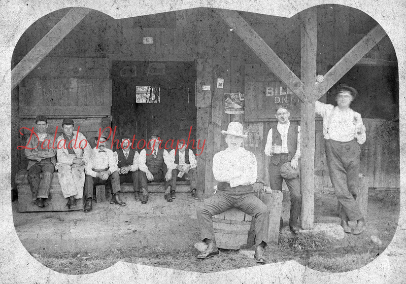 Unknown group, but definitely from the area. Names on the back are Fredie Seizer, Laurel Snyder, Tom Welsh, Connie Lentz and Harold O.