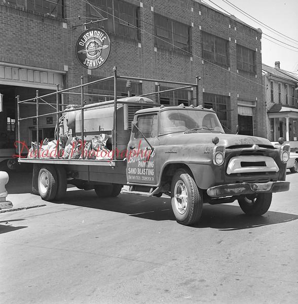 Frank Barovitski Painting truck.