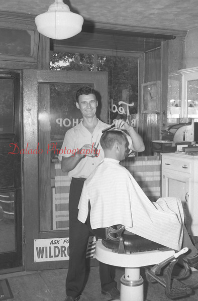 (08.28.58) Ted's Barber Shop in the Fifth Ward.