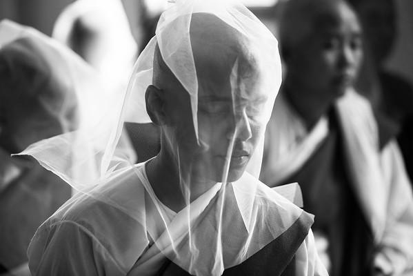 Meditating Nun