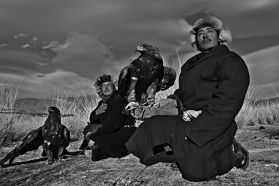 Kazak Eagle Hunters.