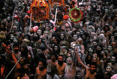Sadhu Procession