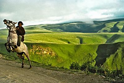 Tibetan Horseman