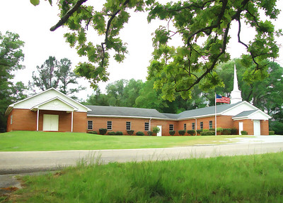 Sardis Baptist Church, near Thomaston, Alabama