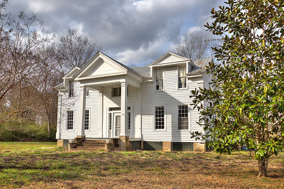 Old Nunally Home in Thomaston located off road on Highway 25 South.