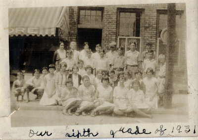 Thomaston 6th Grade - 1931