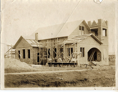 Methodist Church construction, circa 1923