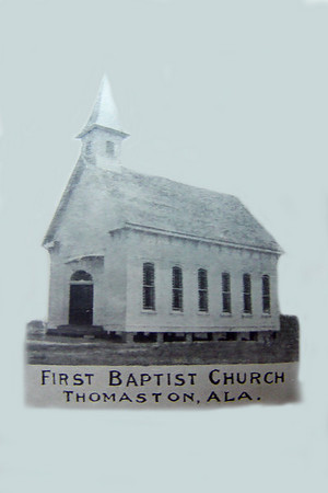 First Baptist Church, circa 1900