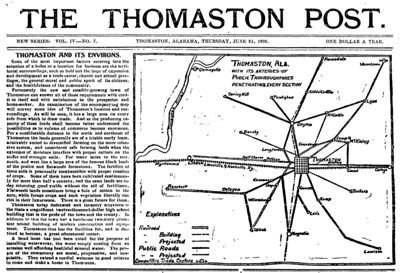 Article for June 24, 1909, Thomasto Post about Thomaston and it's environs.