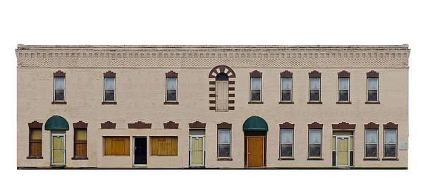 Ward Hotel Main Street - Decluttered in Photoshop