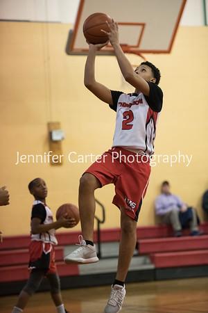 TMS Boys Basketball Game