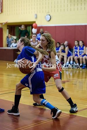 TMS  Girls basketball vs Middletown  (Last Home Game)